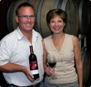 Westcave Cellars Winery Owners Margaret and Allan